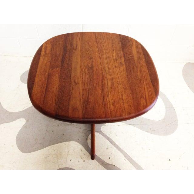 Dyrlund Mid-Century Modern Teak Side Table - Image 5 of 7