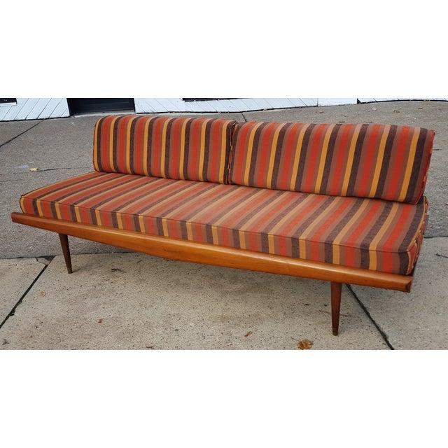 Image of Mid-Century Pearsall Style Studio Sofa
