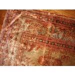 Image of 1880s Antique Persian Silk Tabriz Rug - 4' X 6'