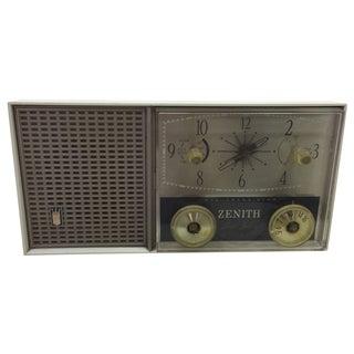 Zenith Sleep Switch AM FM Clock Radio