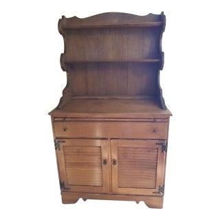 Ethan Allen Baumritter Cabinet & Hutch