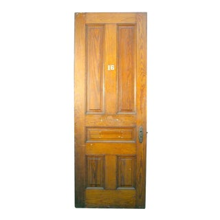 Pine Five Panel Interior Door