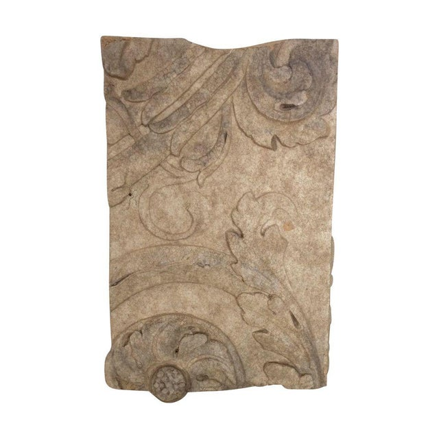 1920s Architectural Building Fragment - Image 1 of 6