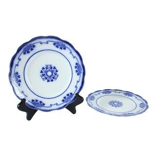 Flow Blue Lorne Salad Plates - A Pair