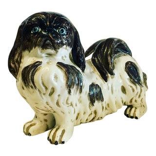 Italian Ceramic Japanese Chin Dog
