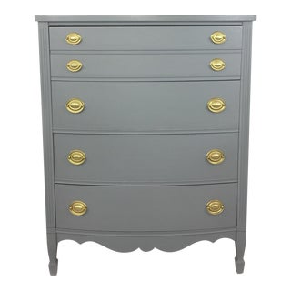 Refinished Gray Dresser by Harmony