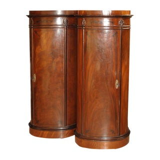 Pair of Danish Biedermeier Cabinets