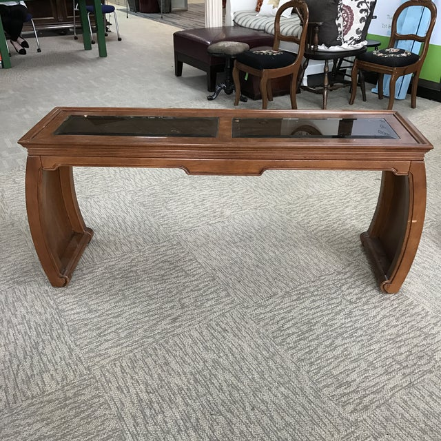 Chinoiserie Asian Style Console Table - Image 2 of 6