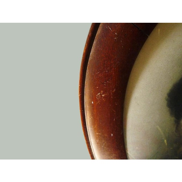 Image of Antique Oval Frame Male Portrait