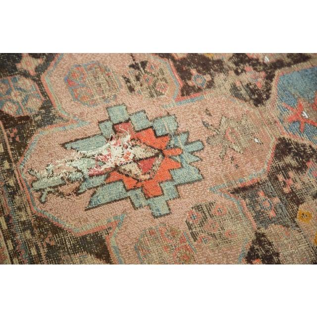 """Image of Distressed Antique Caucasian Rug - 3'6"""" X 5'11"""""""
