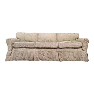 Noriega Furniture Vintage Upholstered Three-Cushion Sofa