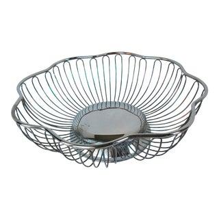 Vintage Silver Plate Bread Basket