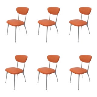 """Gazelle"" Dining Chairs by Shelby Williams - Set of 6"