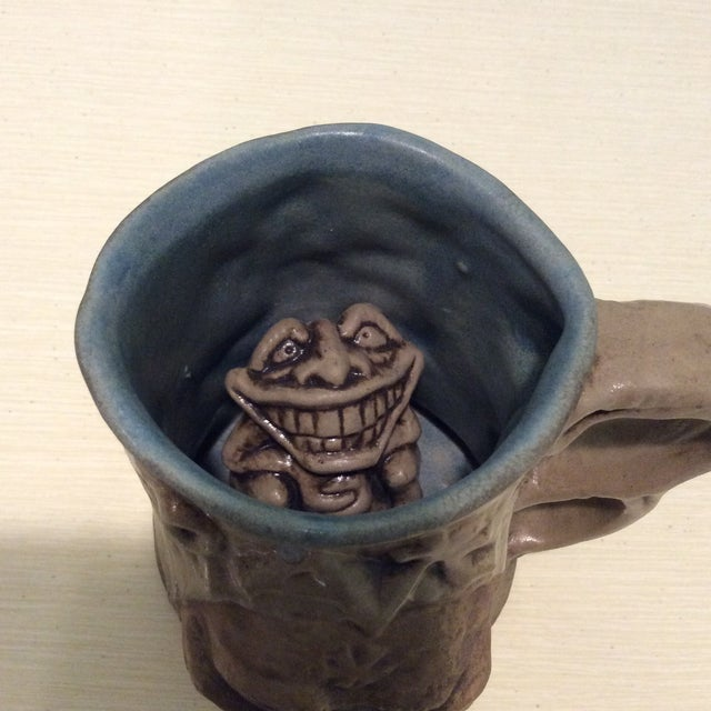 1970s Earthy Creature Coffee Mug - Image 3 of 11
