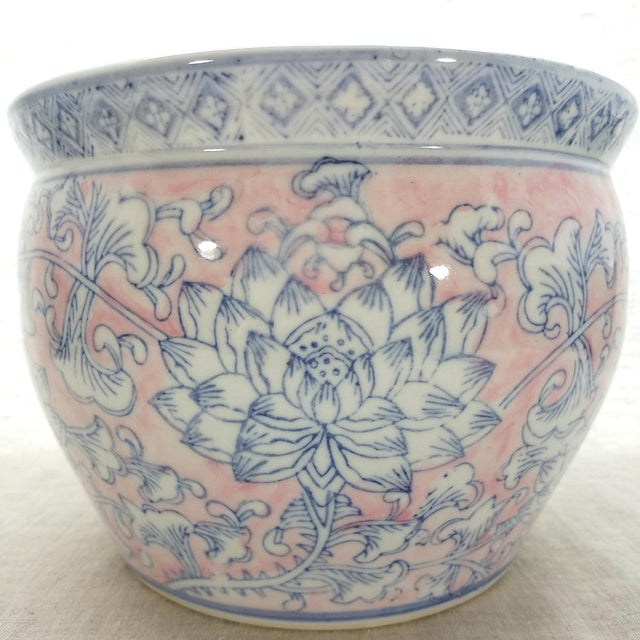 Vintage Chinoiserie Planter No. 1 - Image 4 of 5