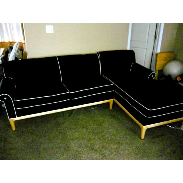 Image of Las Vegas Luxury Black Chaise