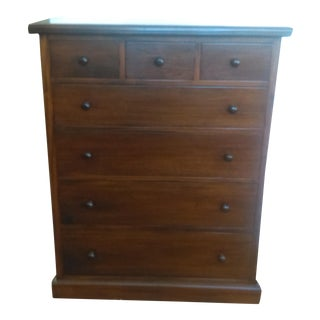 Mahogany Wood Chest of Drawers
