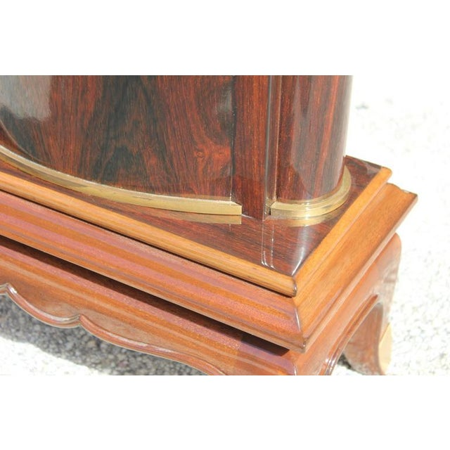 Jules Leleu French Art Deco Palisander Console Tables - A Pair - Image 7 of 10