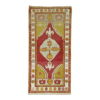 Vintage Turkish Oushak, 2'9'' x 5'