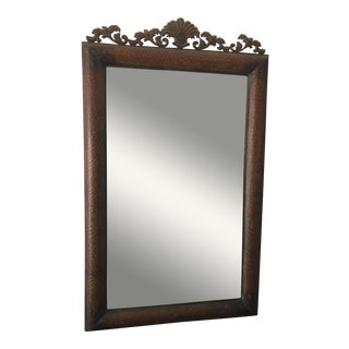 Copper Metal Wall Mirror