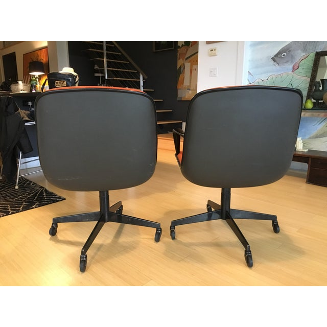 "Steelcase Rolling ""Pollack"" Swivel Office Chairs - Image 5 of 11"