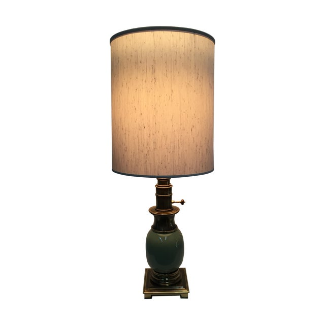 Stiffel Ostrich Egg Table Lamps - A Pair - Image 1 of 6
