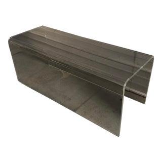 Cb2 Peekaboo Acrylic Bench