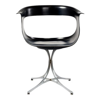 Erwine and Estelle Laverne 'Lotus' Swivel Chair model 117-LF, 1958