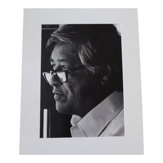 Cesar Chavez Large Portrait Photo Signed Victor Aleman