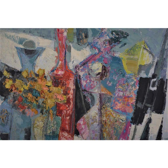 Rene Margotton Mid-Century Expressionist French Oil Painting - Image 3 of 5