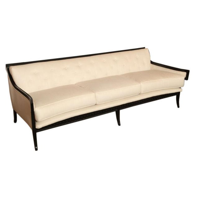 Elegant and Unusual Moderne Sofa - Image 1 of 7