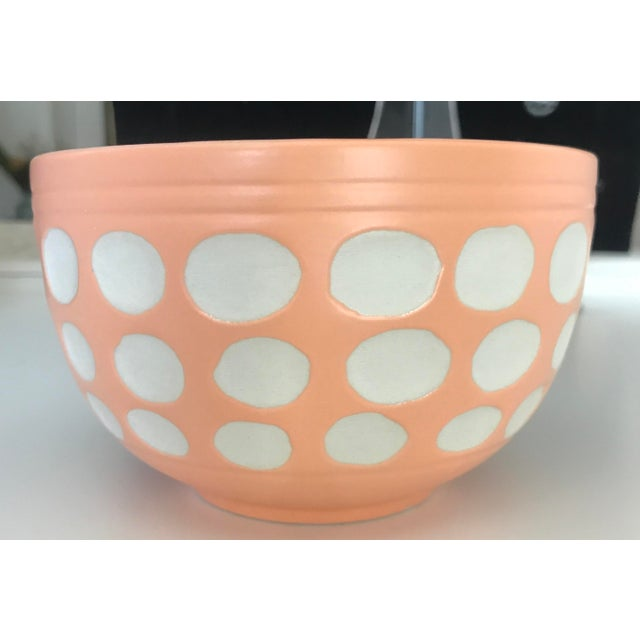 Peach Dot Bowl - Image 2 of 6