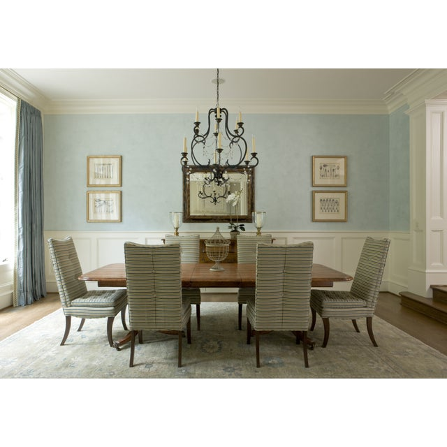 Image of Striped R. Jones Dining Chairs - Set of 6