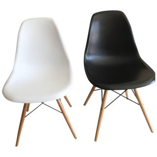 Mid-Century Style Shell Chairs - A Pair
