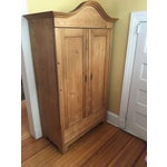 Image of Antique Traditional Pine Armoire
