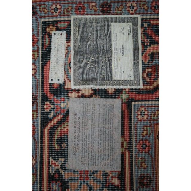 Karastan Williamsburg Heriz Carpet - 5′10″ × 9′11″ - Image 9 of 10