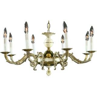 Vintage Flemish Louis XVI Style Chandelier