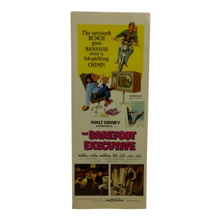 """The Barefoot Executive"" Vintage Movie Poster"
