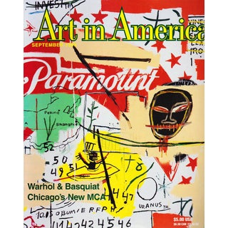 1996 Vintage Art in America Magazine Featuring Basquiat Cover