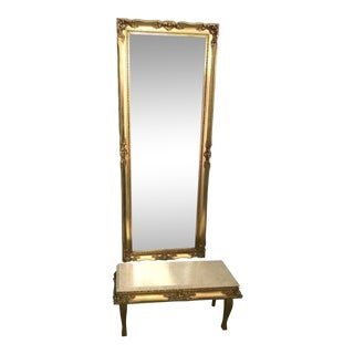 Pier Mirror and Console by J. A. Olson Manufacturing Company