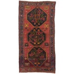"Image of Caucasus Shirvan Turkish Rug - 5'7"" X 10'10"""