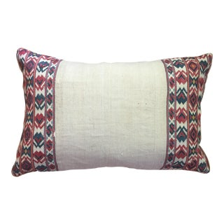 Handmade Vintage Textile Pillow