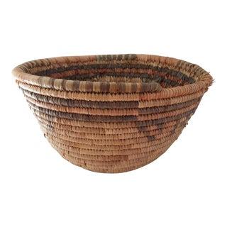 Hand Woven Tribal Basket