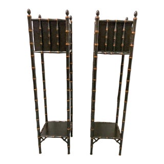 Chippendale Style Plant Stands - A Pair