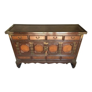 Low Asian Tansu Console