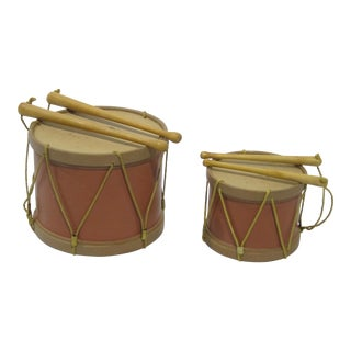 Vintage Sarreid LTD Drum Sets - A Pair