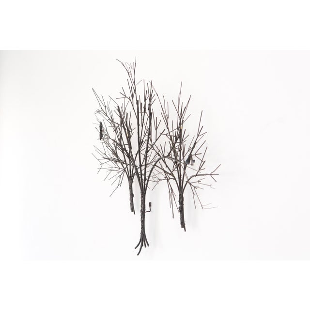 C. Jere Wall Sculpture 'Birds & Trees' - Image 3 of 8