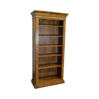 Quality Italian Made Continental Style Tall Open Bookcase