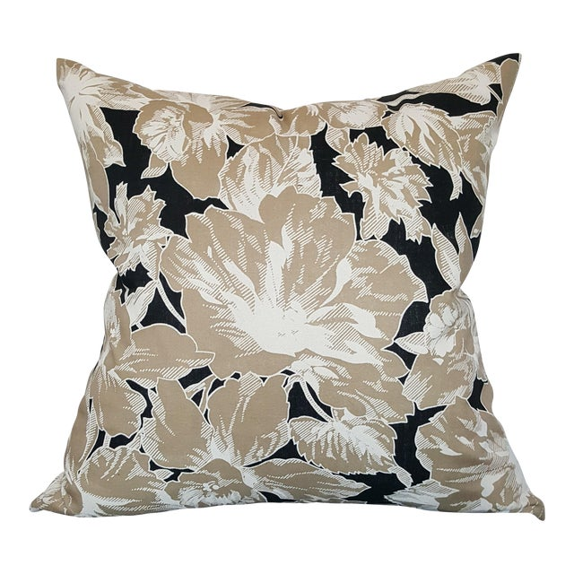 Vintage Floral Throw Pillows - A Pair - Image 2 of 5