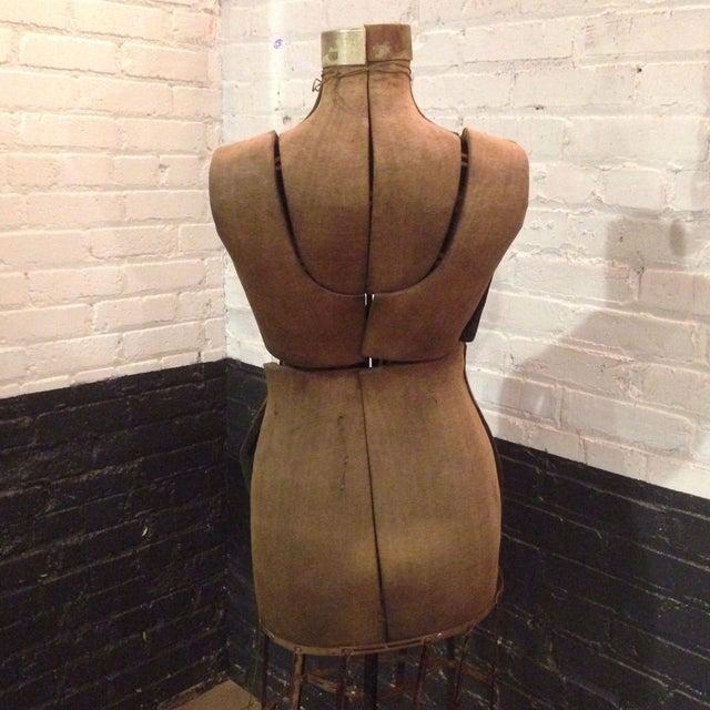 Antique Adjustable Dress Form Mannequin - Image 9 of 11